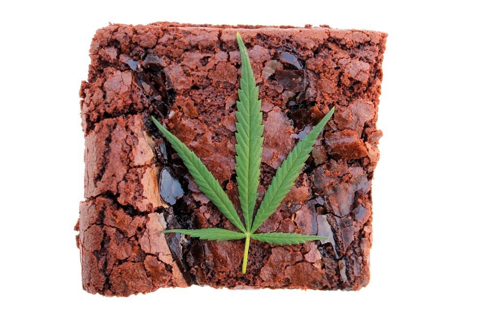 medical marijuana brownie edible