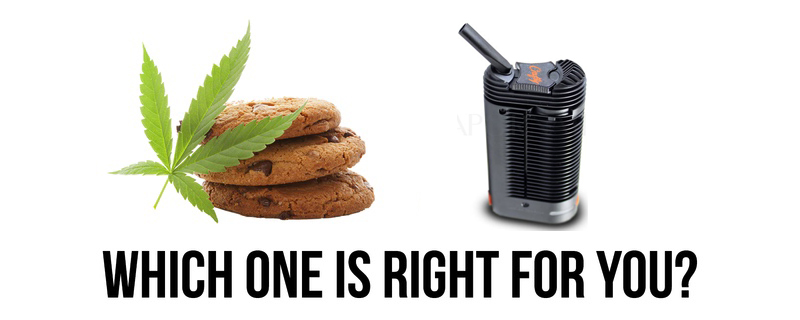 What's the Difference Between Eating and Smoking Cannabis?
